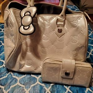 Loungefly Hello Kitty Luggage Bag with Wallet